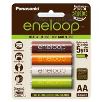 ถ่านชาร์จ Panasonic eneloop limited color