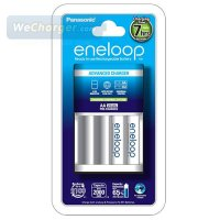 Panasonic Eneloop Charger and 2 Battery